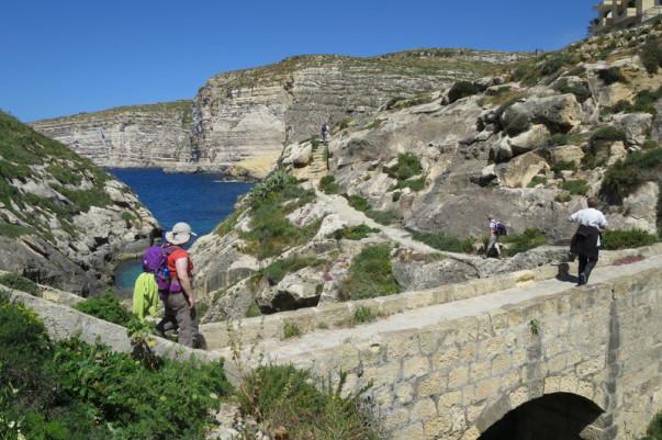 Gozo, côte Sud. chiloe-voyage.fr - Malte. Randonnée. Voyage découverte. Méditerranée