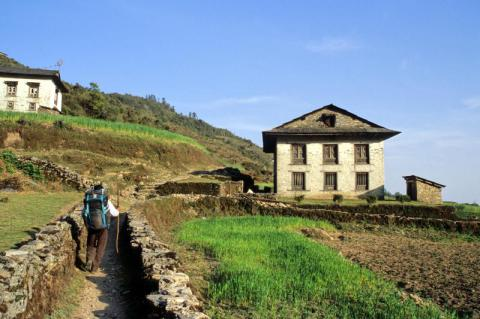 Népal, trekking, vallée du Khumbu, trek solidaire, voyage, co-encadrement, chiloe-voyage.fr